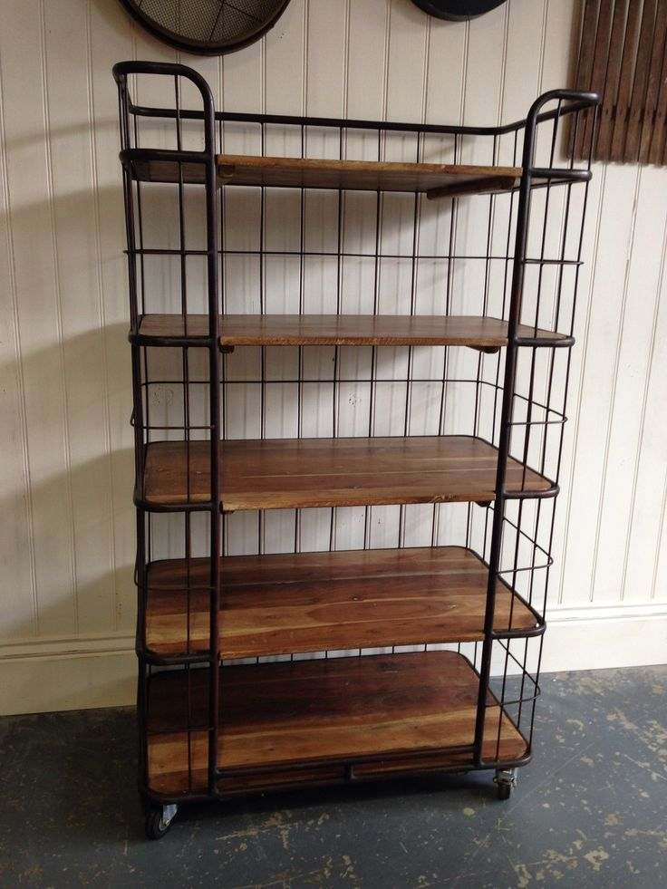 Charmant Image Of: Industrial Bakers Storage Rack
