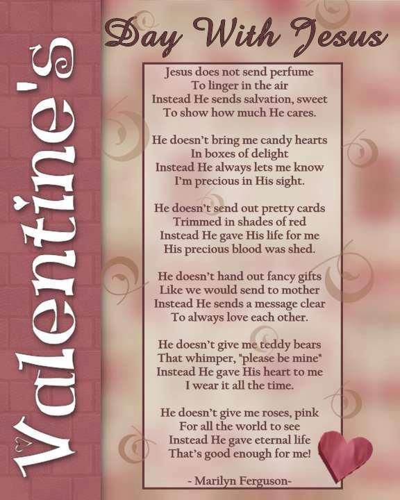 Happy Valentines Day Jesus Quotes: Great For Children's Church