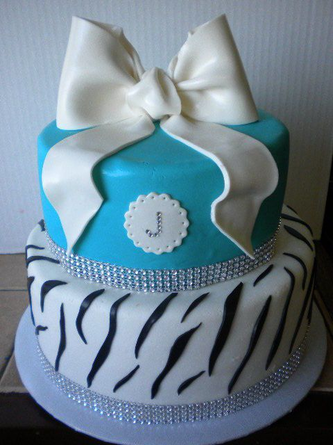 Walmart Birthday Cakes Black And Turquoise