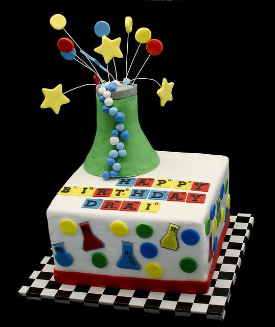 Chemistry Cake Science