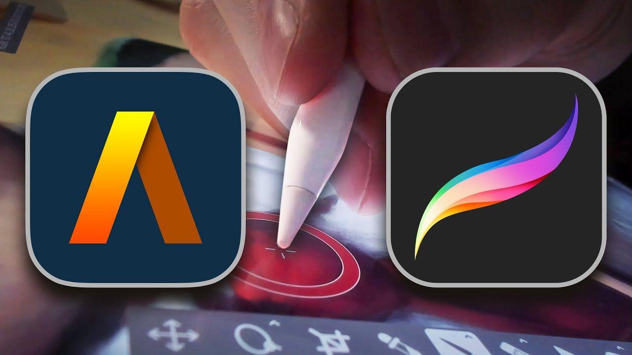 Best on ipad pro artstudio pro vs procreate review