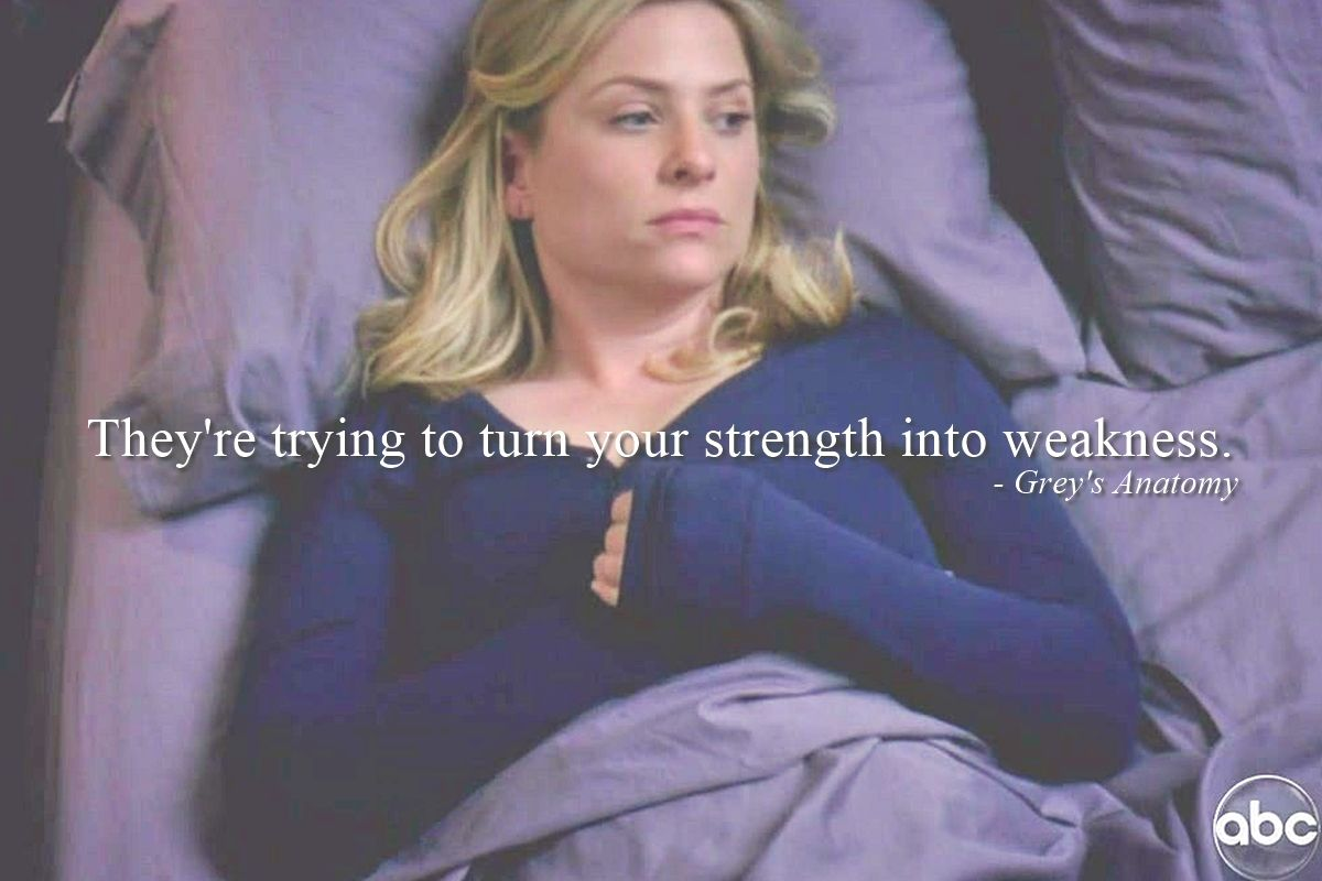 queen-of-quotes | Greys Anatomy | Pinterest