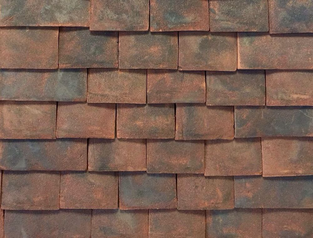 Brand new british hand made clay roof tiles hanbury for Clay tile roofs