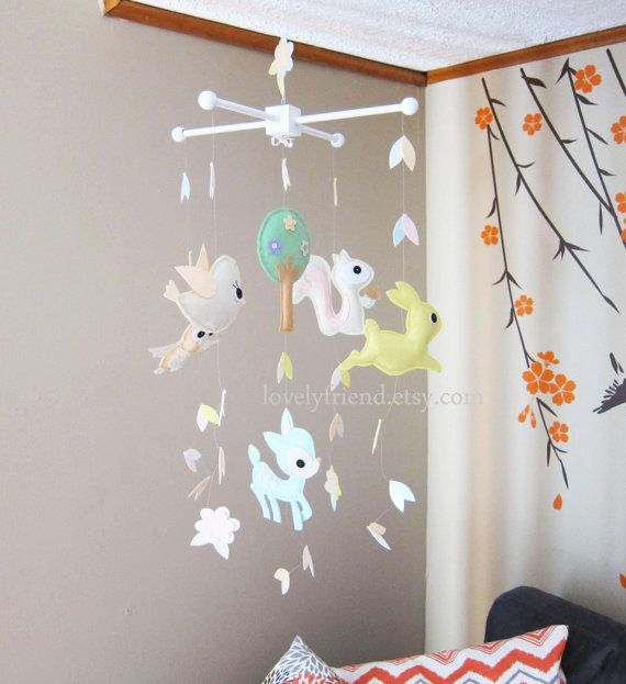 Baby Crib Mobile Baby Mobile Long Decorate by lovelyfriend