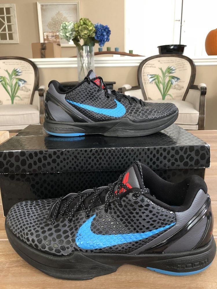 ad172b0cf4ba Nike Kobe 6 VI Dark Knight Black Grey 1 4 5 8 9 10 11 AD 360 Exodus ...