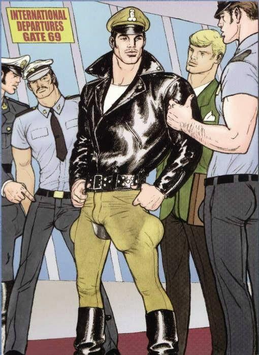 Gay art cartoons tom of finland