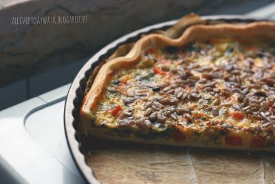 Everyday Walk: Quiche Vegetariana // Receita