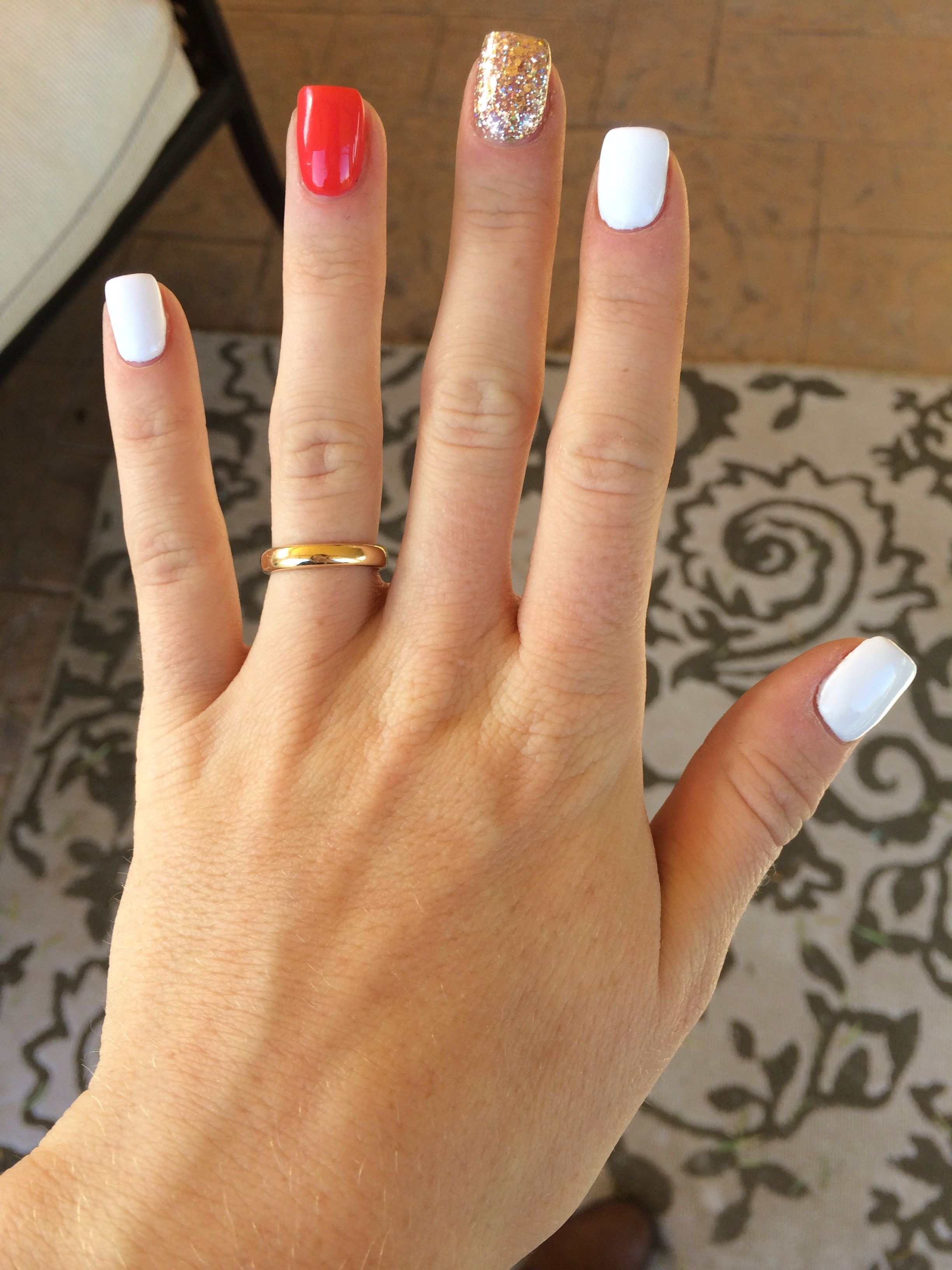 Too cute gel nails @glowrae | Hair, Nails, Make-up and all things ...