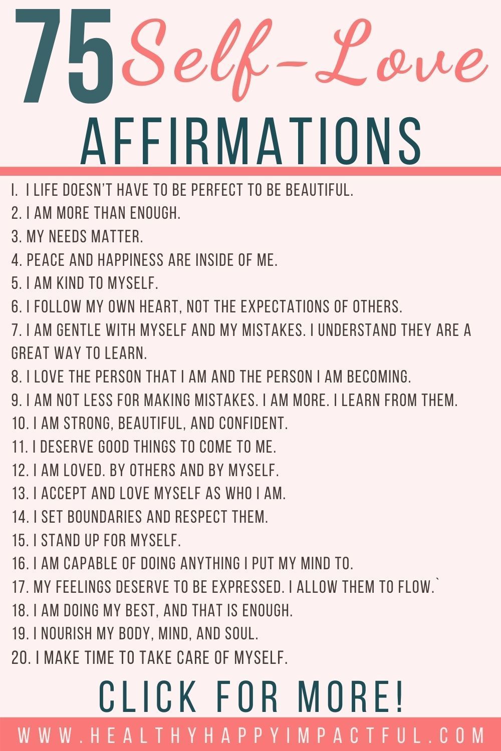 What Are Some Positive Affirmations