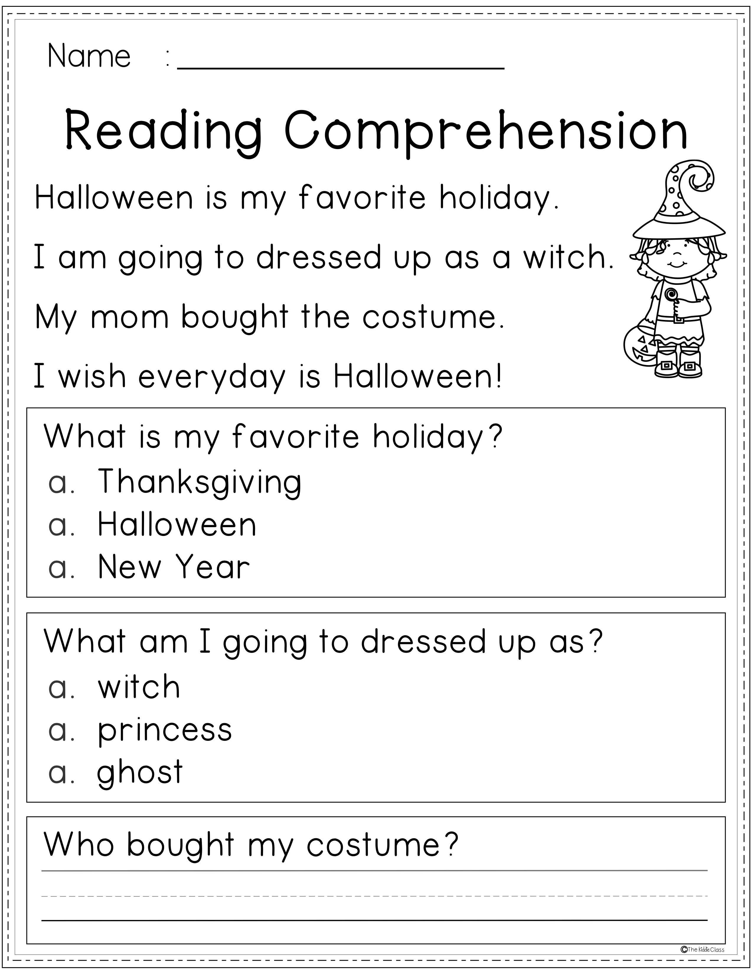 Reading Comprehension Fall Edition Contains 25 Pages Of Reading Comprehe Reading Comprehension Reading Comprehension Worksheets Halloween Reading Comprehension [ 3300 x 2551 Pixel ]