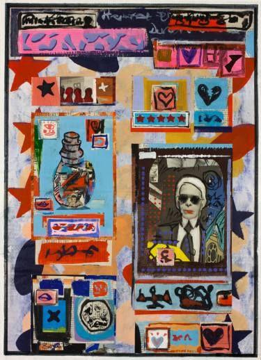 "Saatchi Art Artist Ahmed Borai; Painting, ""Warehouse world wide.depotfield.mod"" #art"