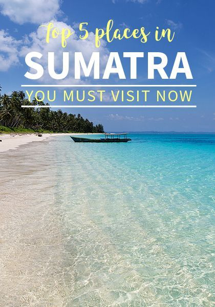 Sumatra's top 5 places you must visit as soon as possible, before they get too touristy or animals get extinct.