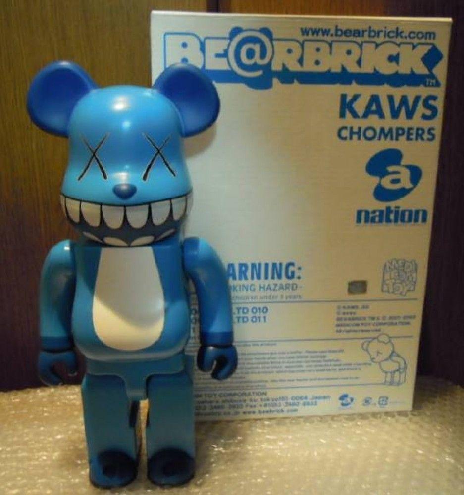 Bearbrick x OriginalFake Be@rbrick 400/% KAWS