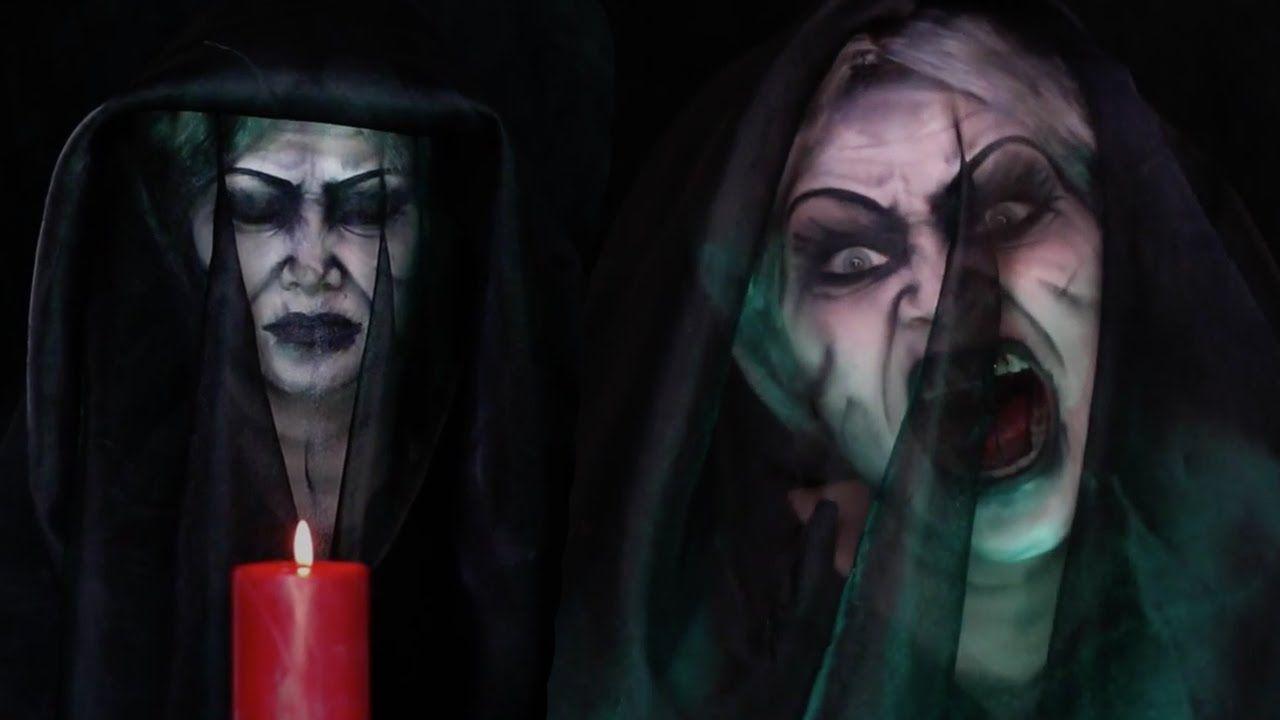 Insidious Chapter 3 Bride In Black Makeup Tutorial Halloween Decoracion De Unas Maquillaje