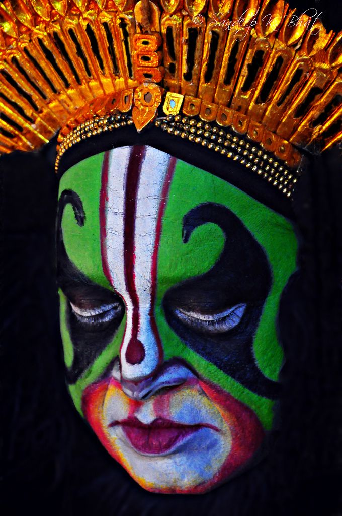 Yakshagana Face Painting Google Search In 2019 Face Art