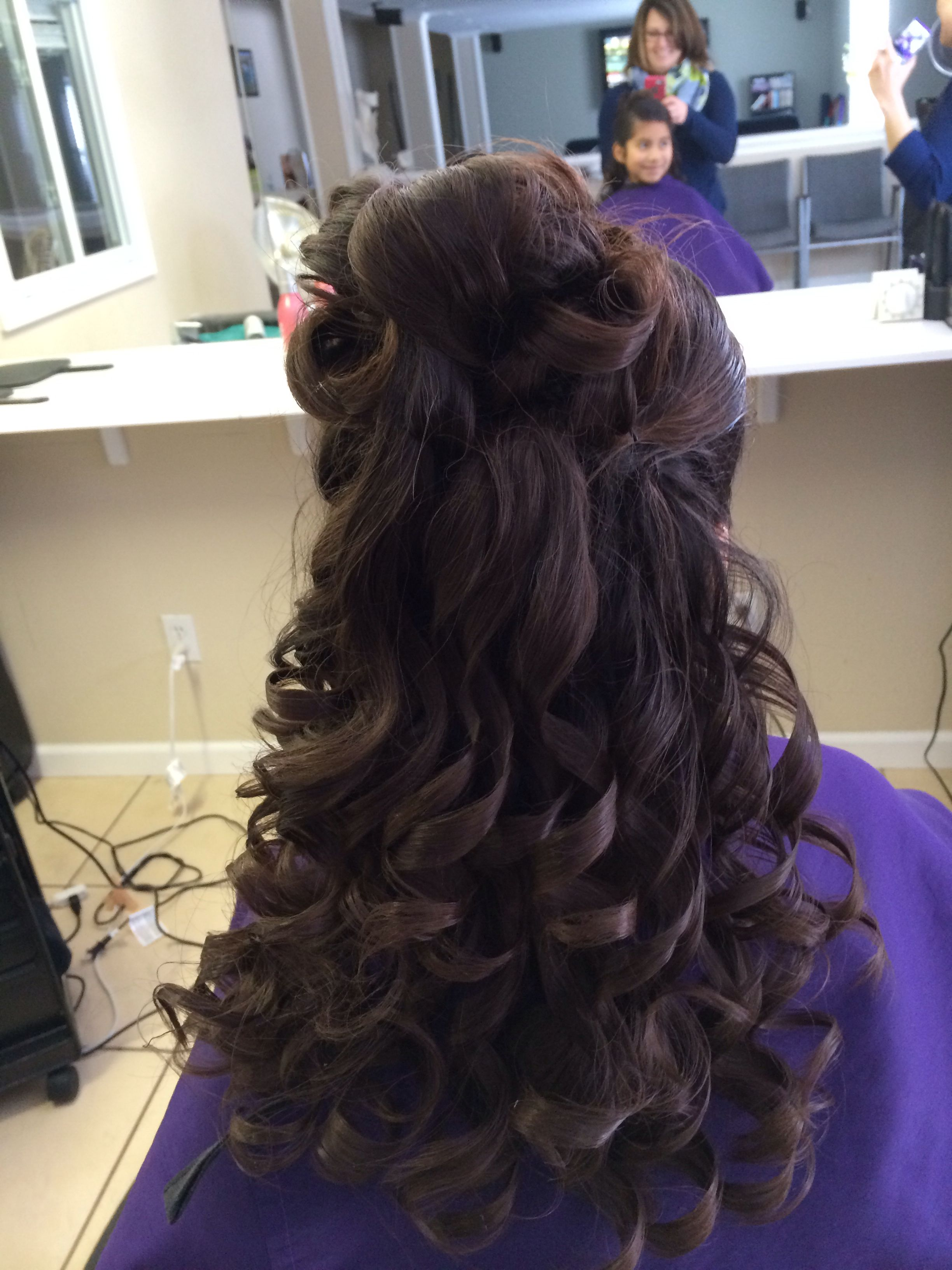 First Communion Hair Communion Hairstyles Hair Styles