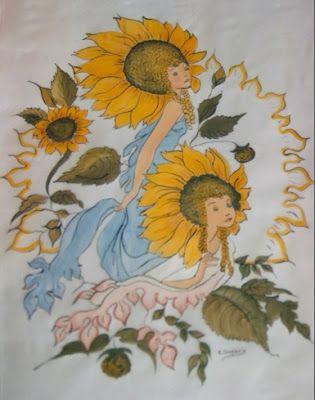 las cositas de Dopacio: Pintura en seda y tela