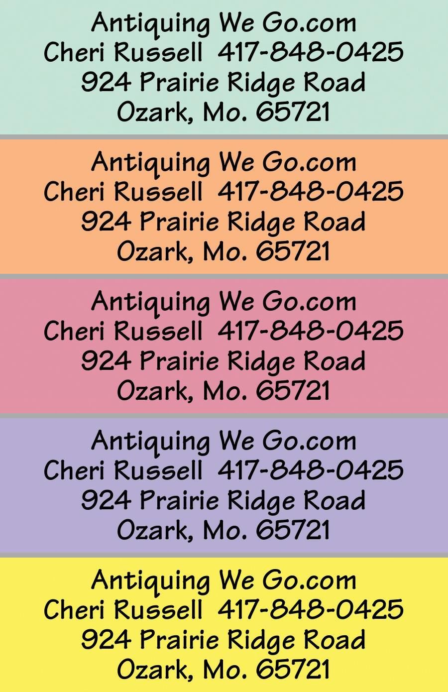 rainbow rolled address labels current labels wants pinterest