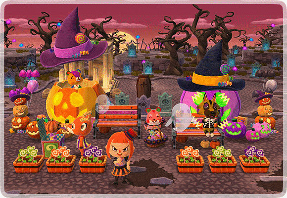 Image result for animal crossing pocket camp all halloween