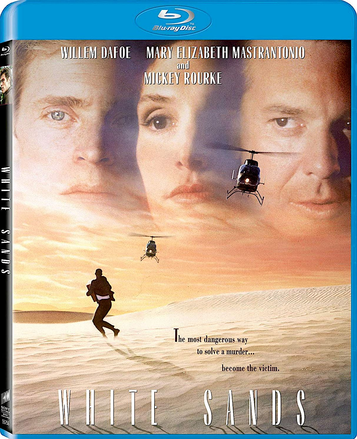 WHITE SANDS BLU-RAY (SONY PICTURES) | RECENT AND UPCOMING