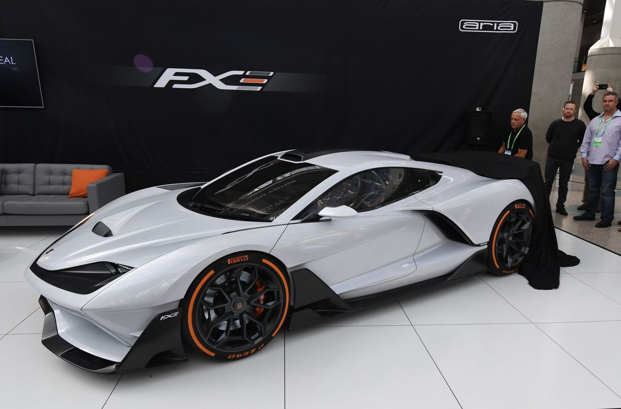 Aria Group Unveiled The Fxe A Mid Engine Hybrid That Will Go 0 To 60 Mph In 3 1 Seconds Robert Hanashiro Usa T Super Cars Sports Cars Luxury New Supercars