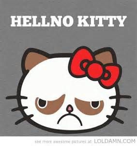 Bad mood Kitty