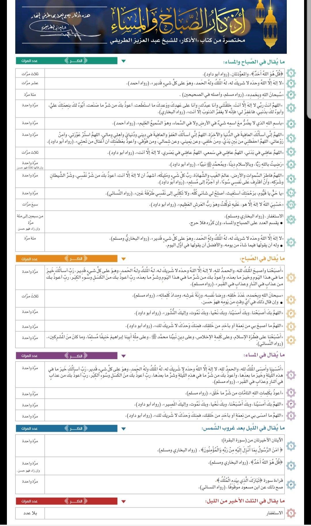 أذكار الصباح والمساء Iphone Wallpaper Images Islamic Teachings Quran Quotes