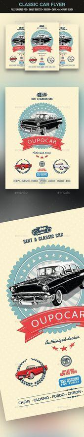 Classic Car Flyer –