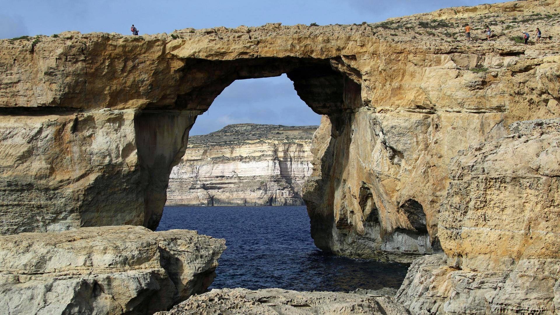 Eroosio: Game of Thronesistakin tuttu Maltan luonnonihme sortui