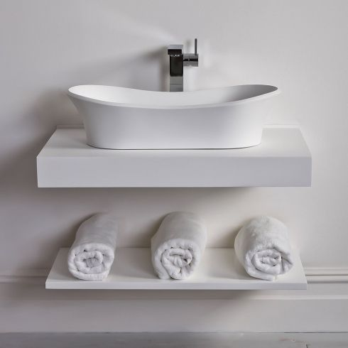 Fantastic Lusso Stone Countertop Vanity Shelf Basin Shelf Download Free Architecture Designs Aeocymadebymaigaardcom