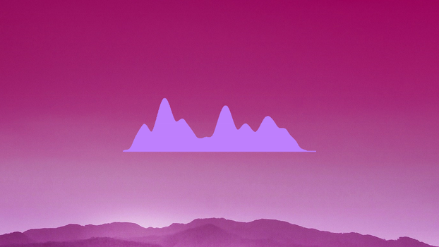 Ocean, desktop music visualizer by alatsombath | rainmeter