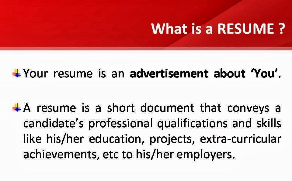 World And Knowledge Thing S That Definitely Help You Out To Make An Ef Effective Resume Resume Definitions