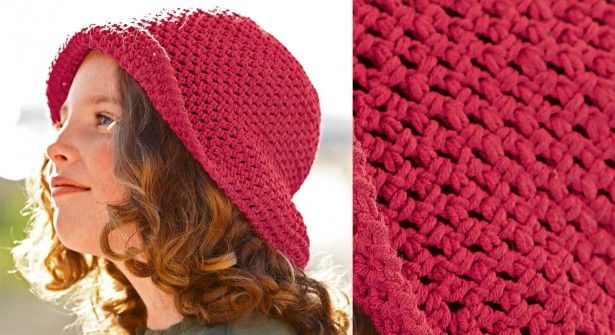 740f8e60436d L écharpe ajourée au crochet - Prima. Chapeau-crochet-fillette-B-de-F  Chapeau Crochet, Modèles De