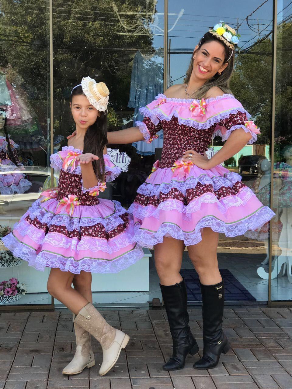 Pin de Marcia Rozo Regina en Vestidos caipiras | Pinterest ...