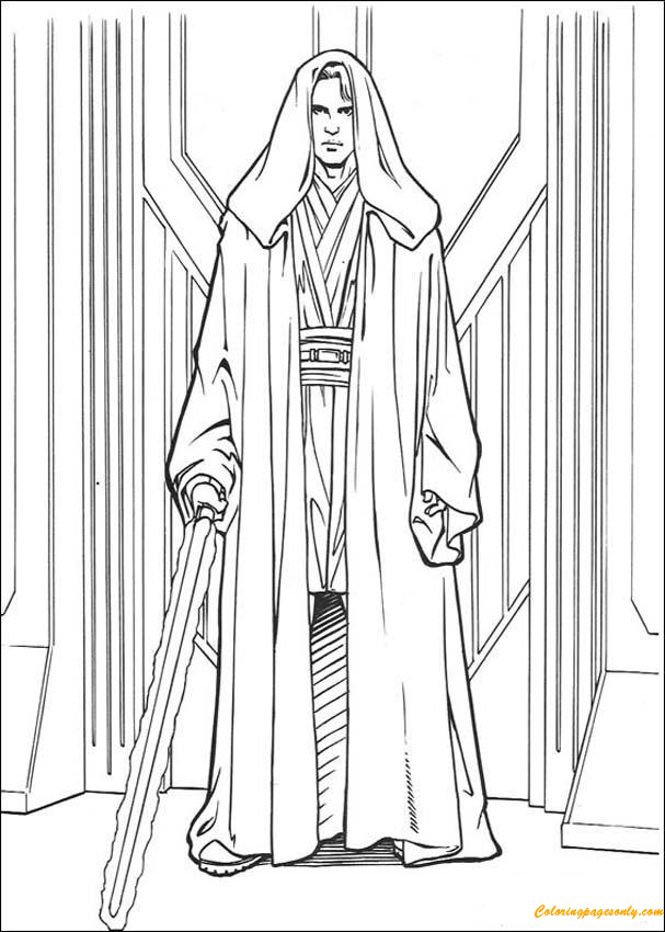 Anakin From Skywalker Coloring Page If You Like This Anakin From Skywalker Coloring Page S Star Wars Coloring Sheet Star Wars Coloring Book Star Wars Anakin
