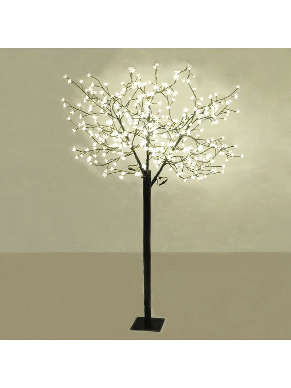 Cherry Blossom Tree With 384 Warm White Leds For Indoor And Outdoor Use Tree Lamp Warm White Fairy Lights Fairy Lights In Trees