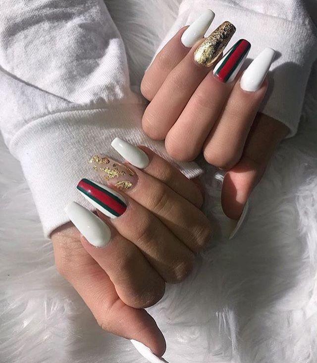 Pinterest | @ Haleyyxoo† | Nails † | Pinterest | Nail inspo, Long ...