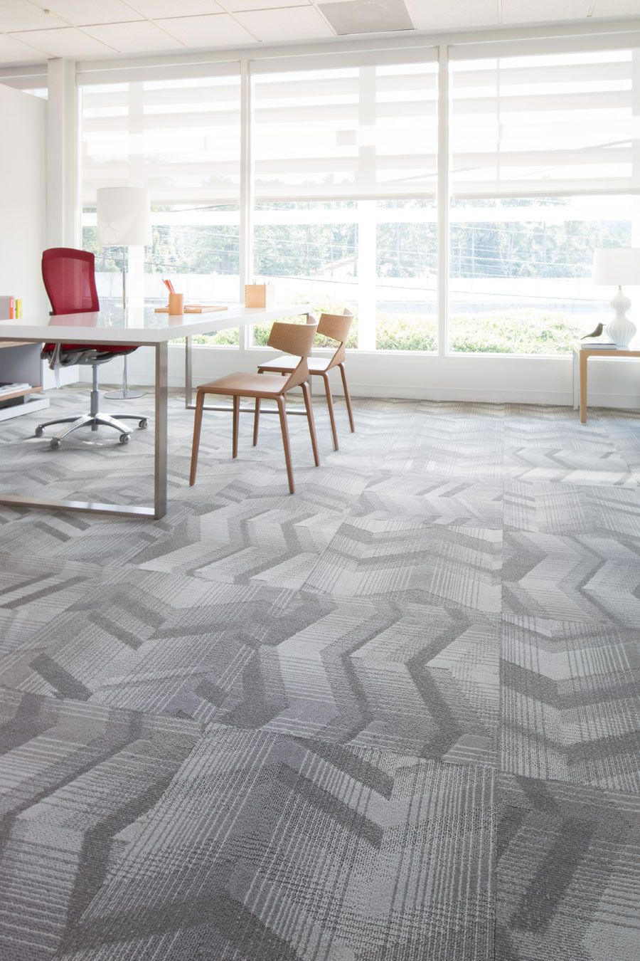 Late Night Tile Lees Commercial Modular Carpet Mohawk Group
