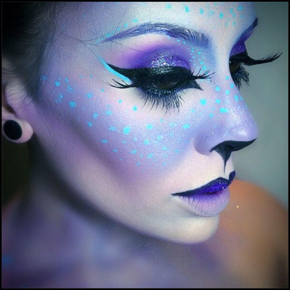 Unicorn Makeup Idea Halloween Pinterest Twarze Halloween I