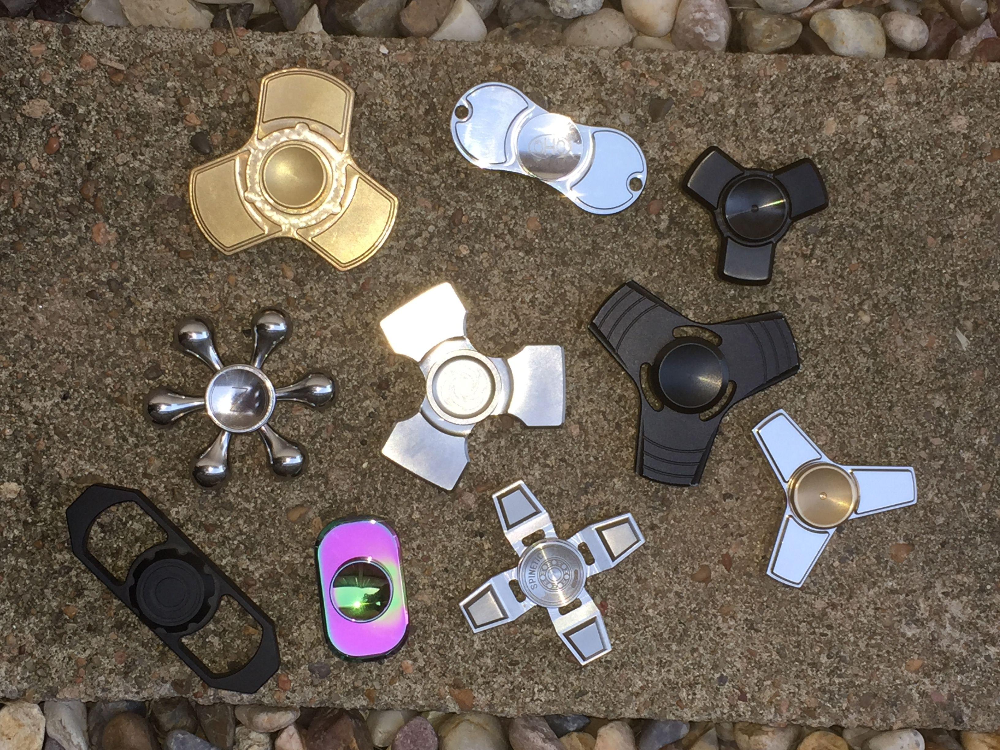 Sy tools custom producing hand spinner torqbar alec bass shells 50 66 - Figit Spinner