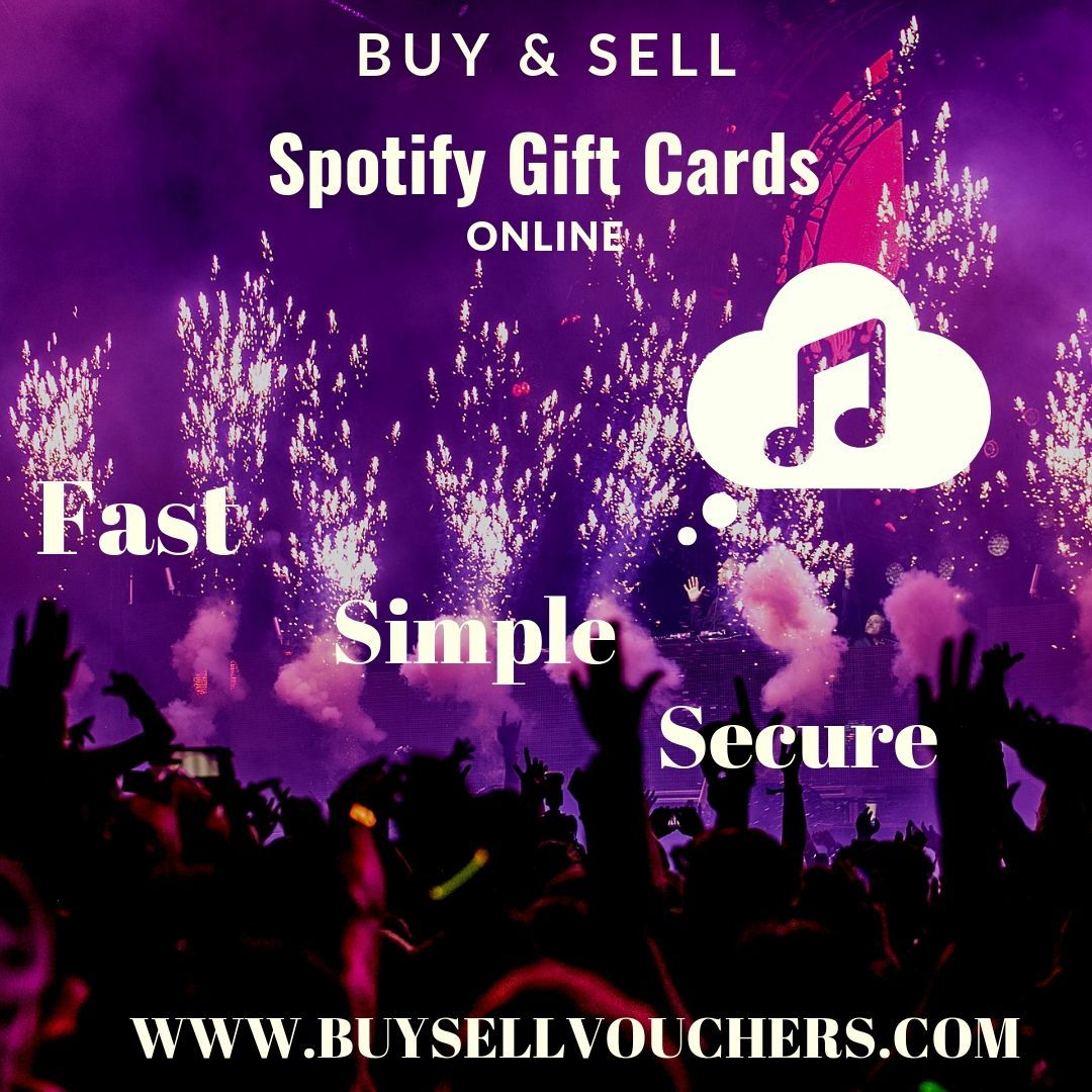 Buy or sell spotify gift card online spotify