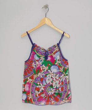 Lightweight and elegant, this chiffon top dresses up any little girl's wardrobe, perfect for a birthday party or just a day when the fancy urge strikes.
