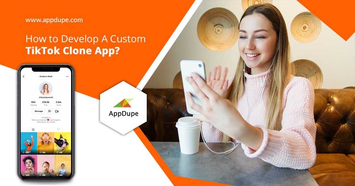 How To Develop A Custom Tiktok Clone App Live Video Streaming App Likes App