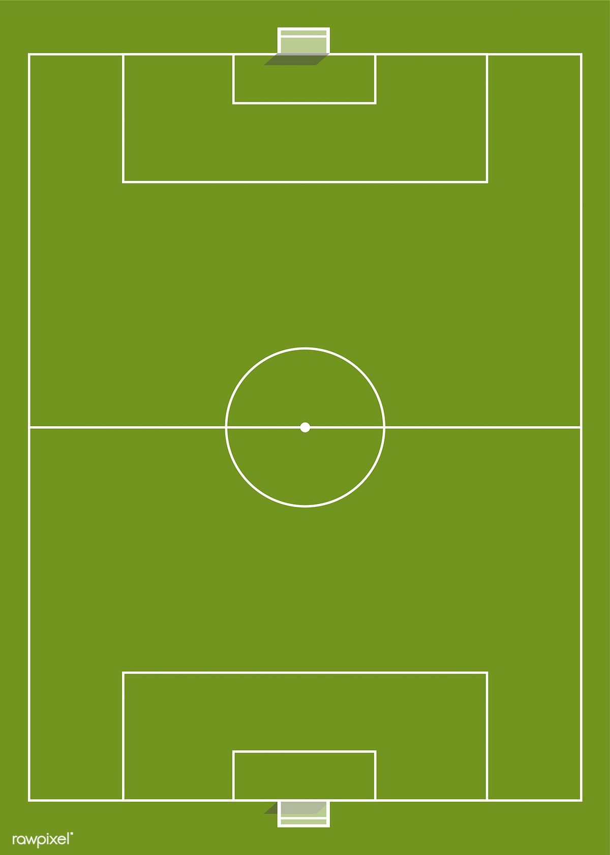 Aerial View Of A Soccer Field Free Image By Rawpixel Com Soccer Field Soccer Soccer Inspiration