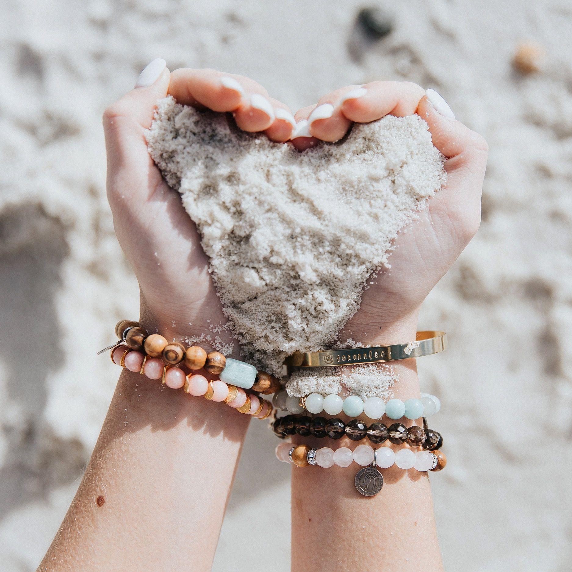 beach pictures. beach bracelets. beach love. #beach #sand #beadedbracelets cool beach pics, cool sand pictures
