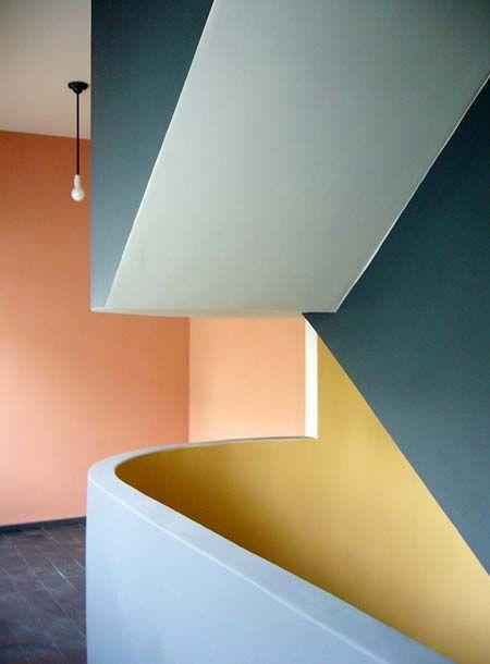 Corbusier Farben Google Suche Stairs Design Wall Colors Le