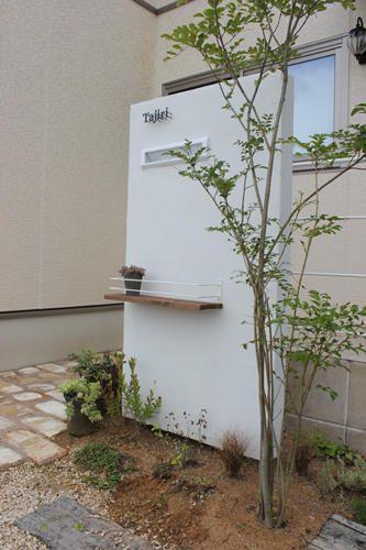 エントランス シンボルツリーを植えたい エクステリア 和風の家の