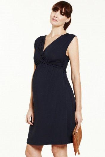 626ad3213 mabapa vestido maternidad negro Vestidos De Maternidad