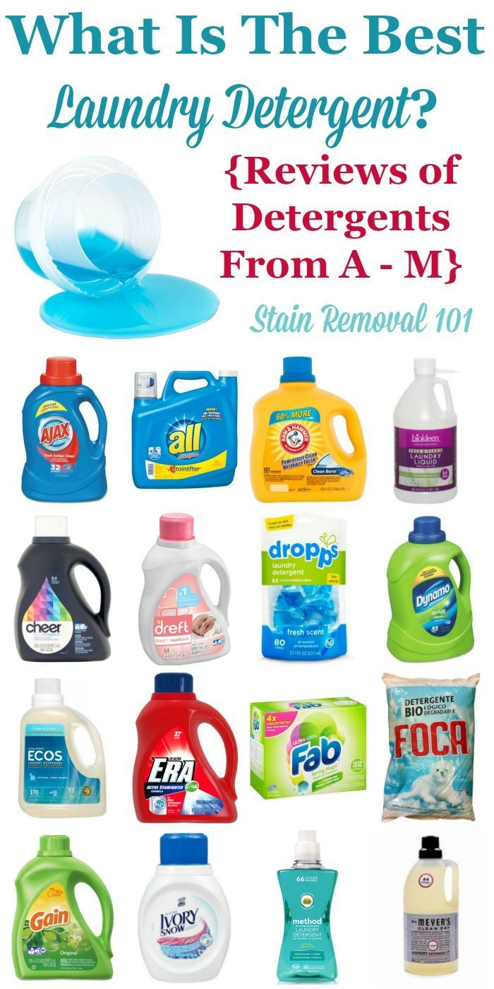 Best Laundry Detergent Ratings Reviews Of Brands A M Best