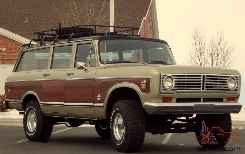 1973 International Travelall 1110 4x4 Woody Automatic 392 V8 A C Loaded 89k International Travelall International Scout 4x4